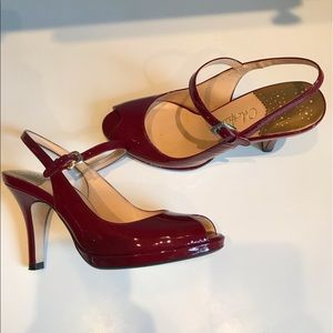 Cole Haan candy apple red Shoes 6.5